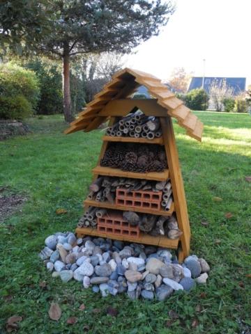 Hôtel à Insectes En  bois