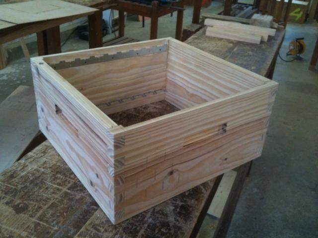 Hausse de ruche Menuisier Lons