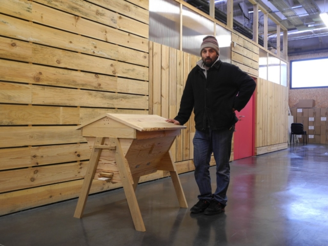 Ruche kenyane création meuble en bois