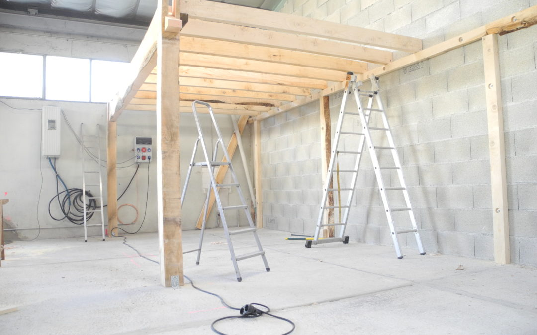 Construction d'une mezzanine