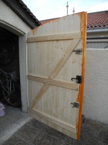 Porte de Garage 2 en bois