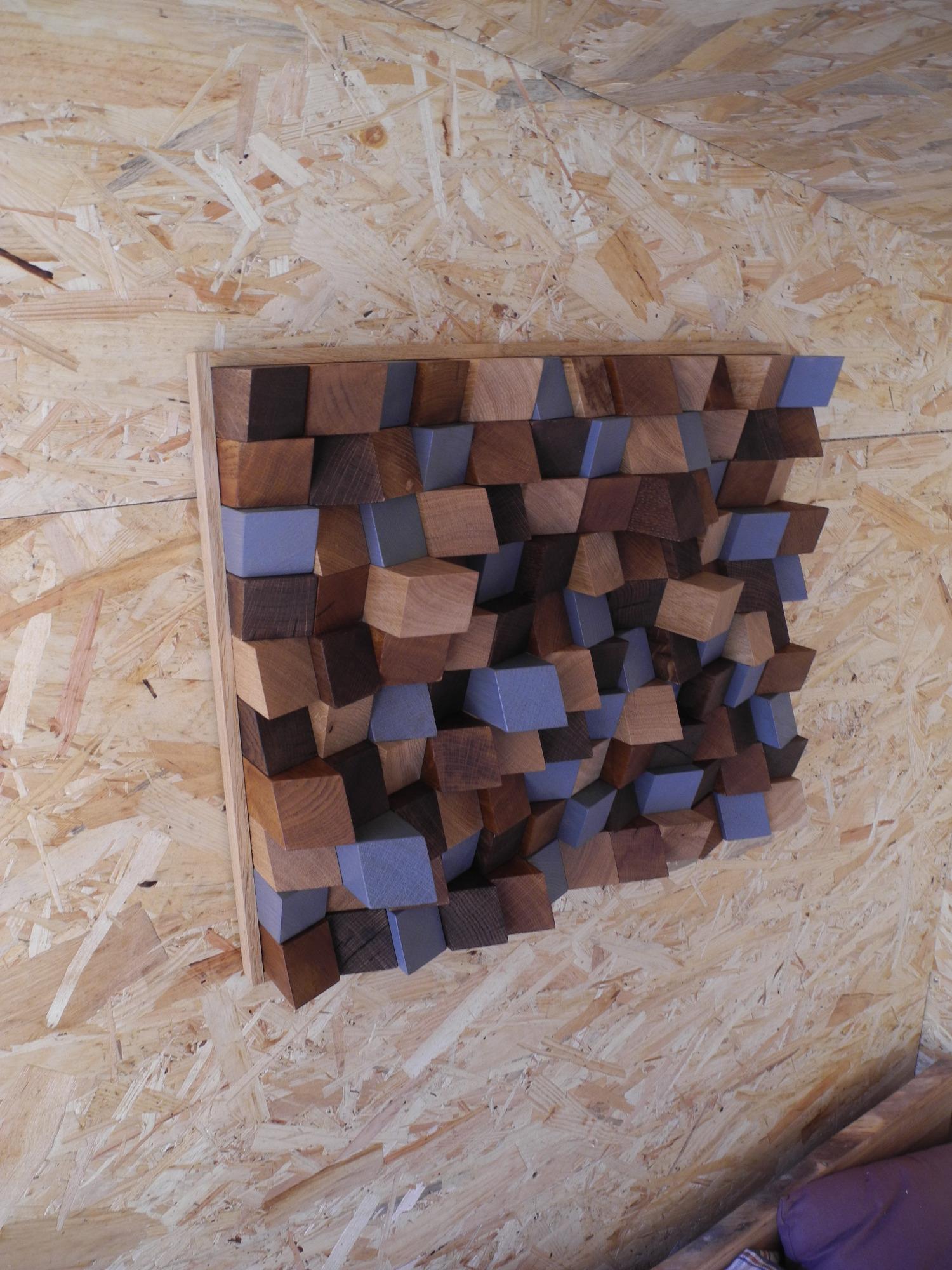Tableau déco en bois