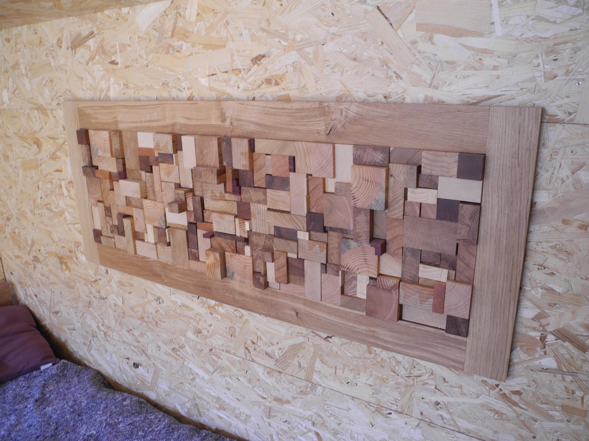 En bois Tableau déco
