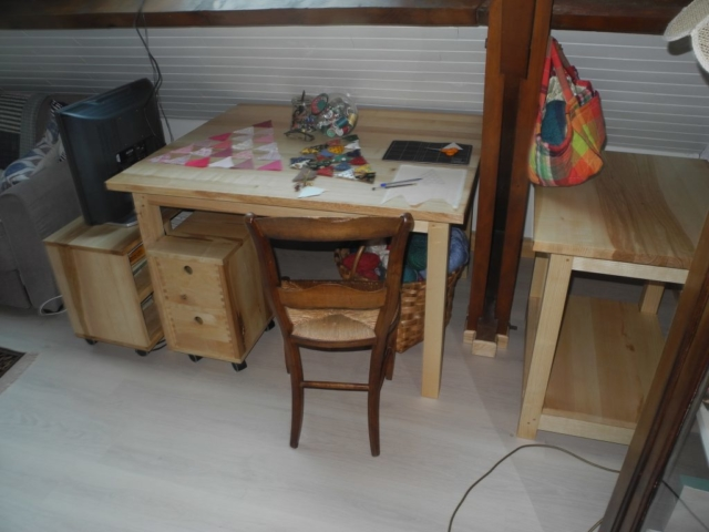 Table Menuiserie Pau LONS