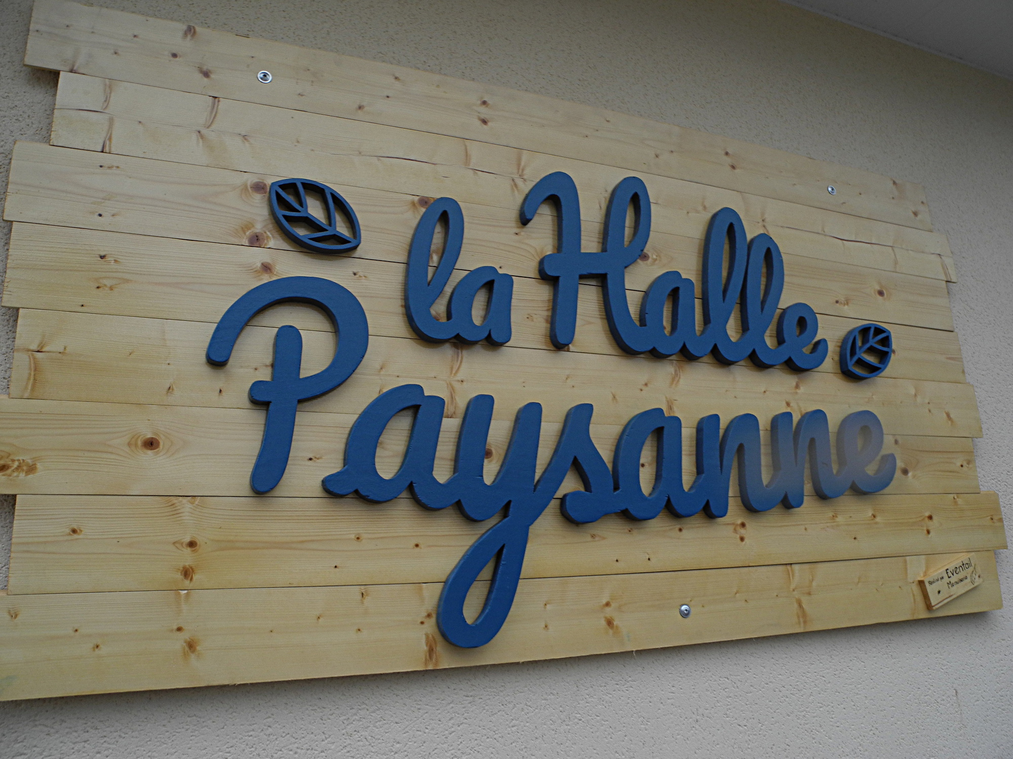 Menuiserie Halle Pancarte à Pau/Lons