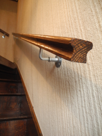 Escalier menuiserie Pau rampe