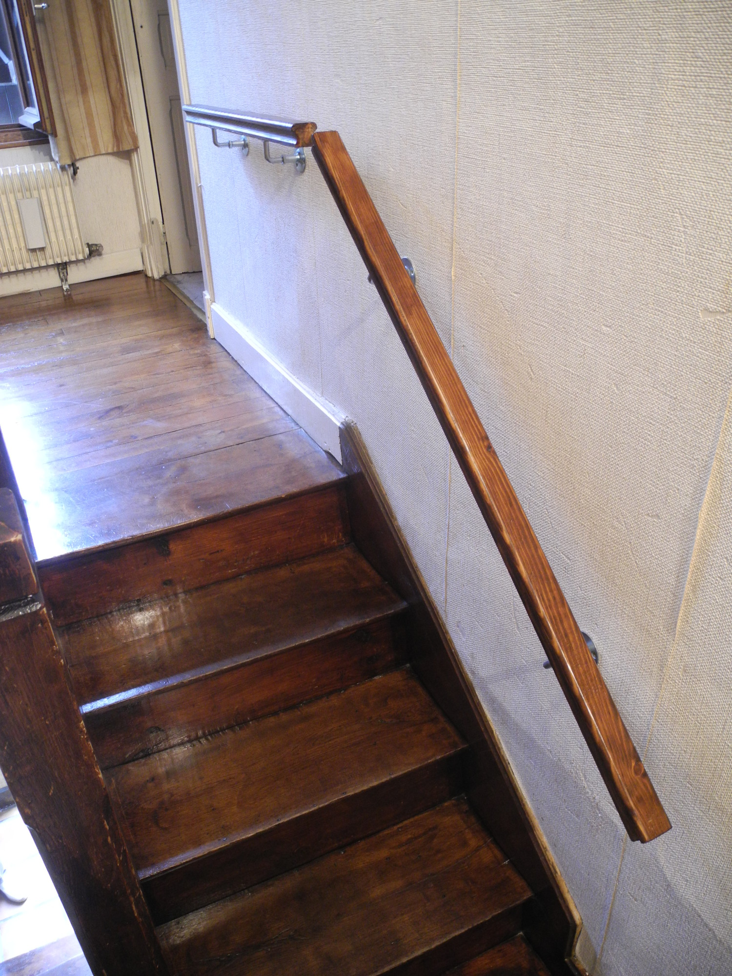 Escalier menuiserie Lons