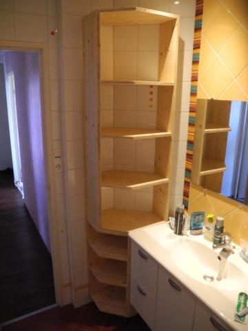 Meuble de salle de bains interieur