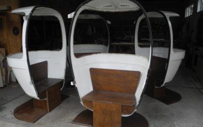 Des fauteuils télécabines !