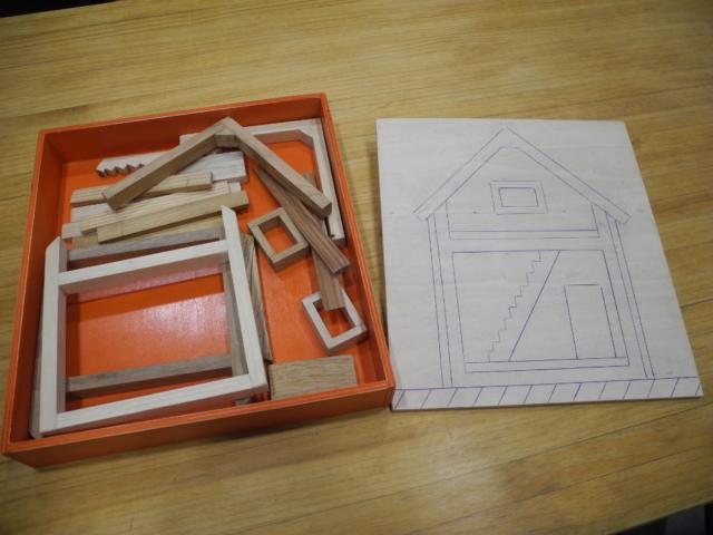 Maquette Maison en Bois